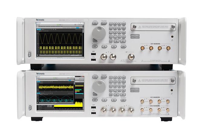 Генераторы сигналов Tektronix AWG70001B / AWG7002B