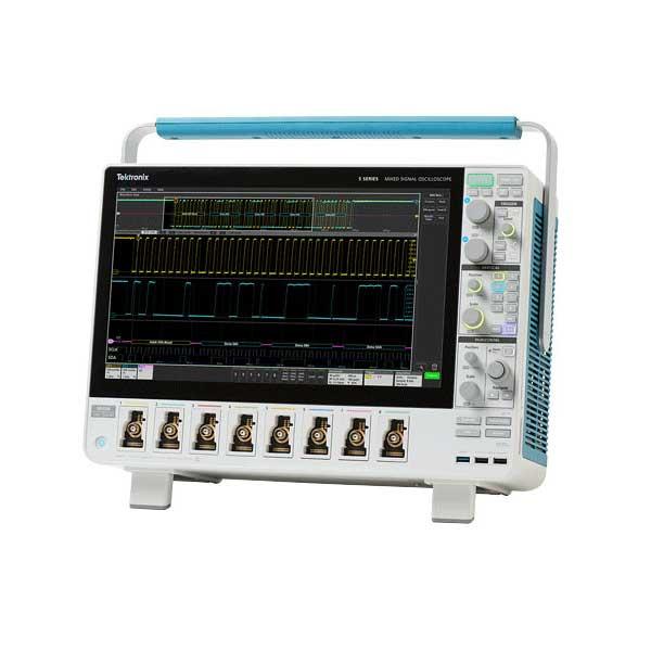 Осциллограф Tektronix MSO5 вид спереди