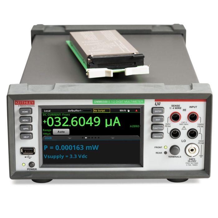 Мультиметр с платой 2000-SCAN