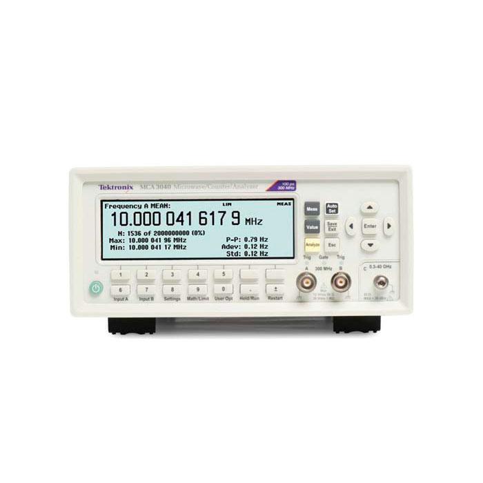 Частотомеры Tektronix MCA3027, MCA3040