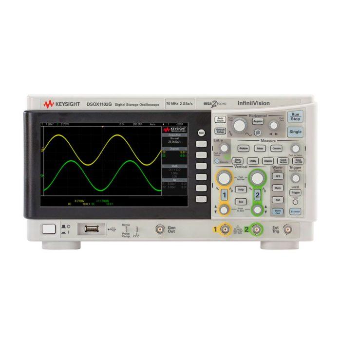 Бюджетный осциллограф DSOX1102G