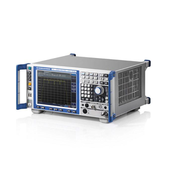 Семейство анализаторов спектра R&S FSV - вид сбоку