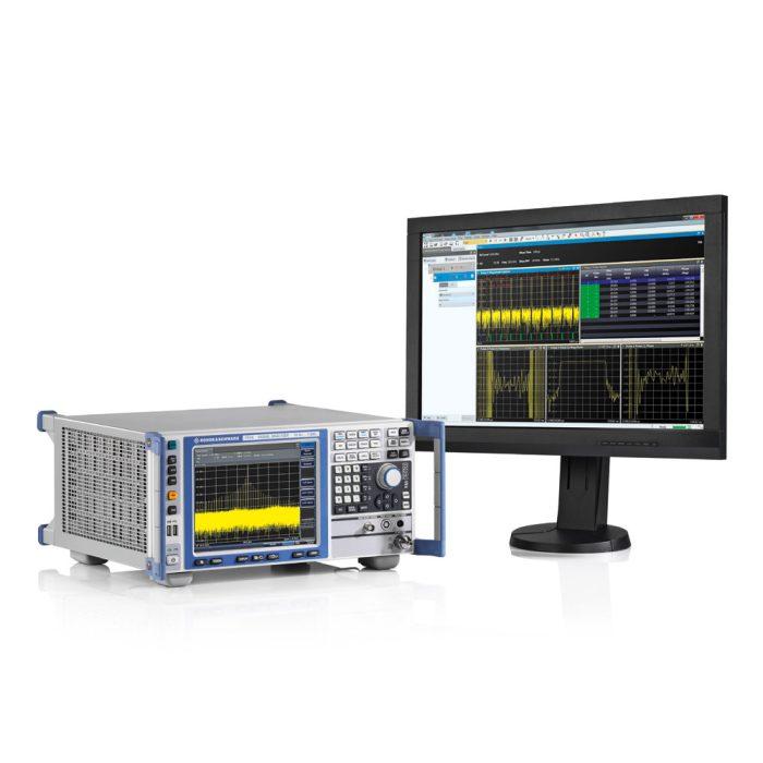 Анализатор спектра R&S FSVA4 с внешним монитором