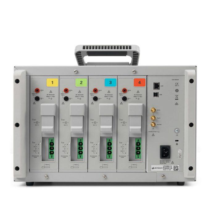 Анализатор мощности PA2203A - вид сзади