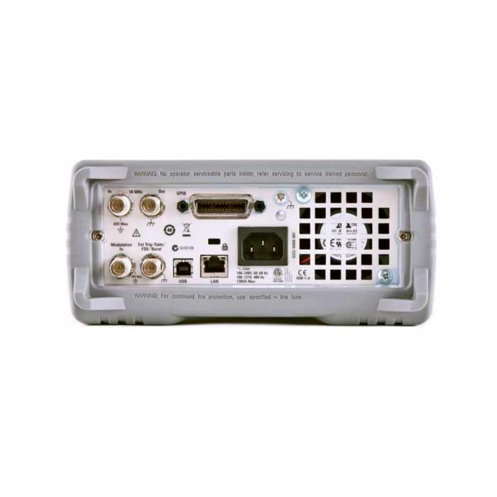 Генераторы сигналов Keysight серии 33500B - задняя панель