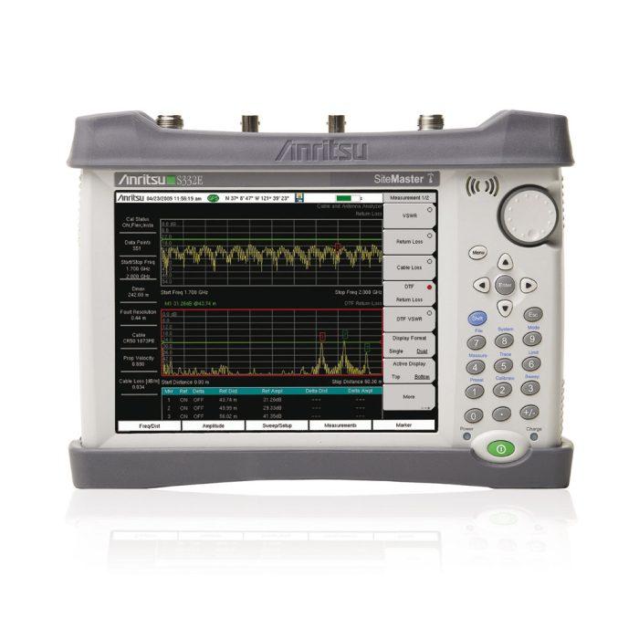 Компактный портативный анализатор кабелей и антенн Anritsu S332E