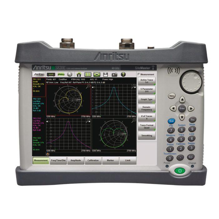 Портативный анализатор кабелей и антенн Anritsu S820E
