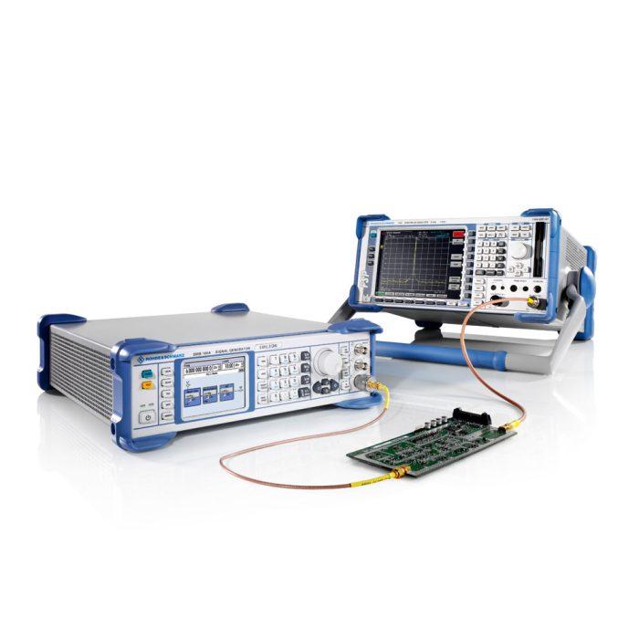 Генератор сигналов SMB100A с анализатором спектра FSP
