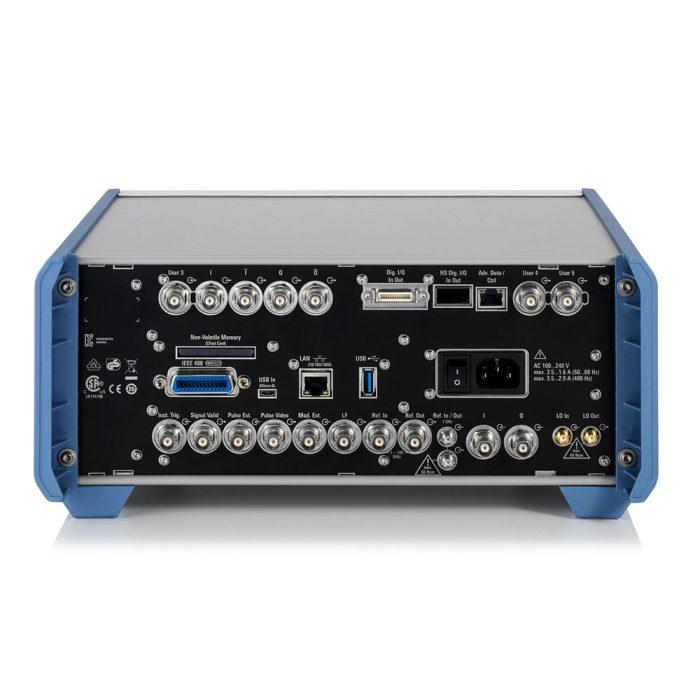 Векторный генератор сигналов SMBV100B - задняя панель