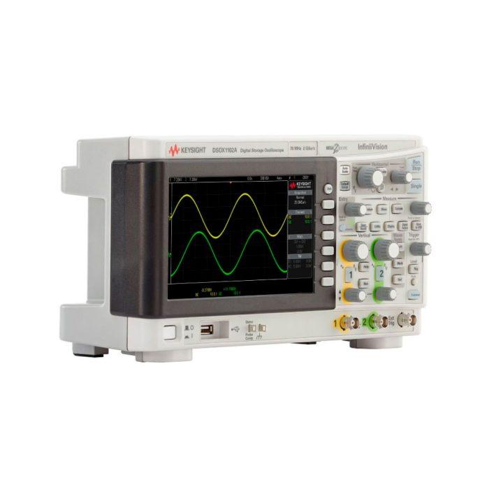 Keysight DSOX1102A - осциллограф 70/100 МГц