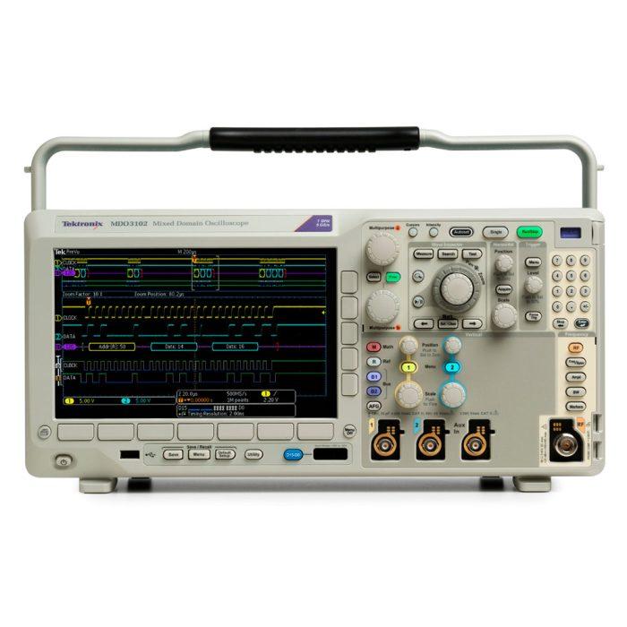 2-х канальные осциллографы MDO3022