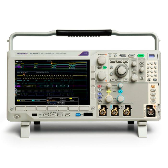 2-х канальные осциллографы MDO3052
