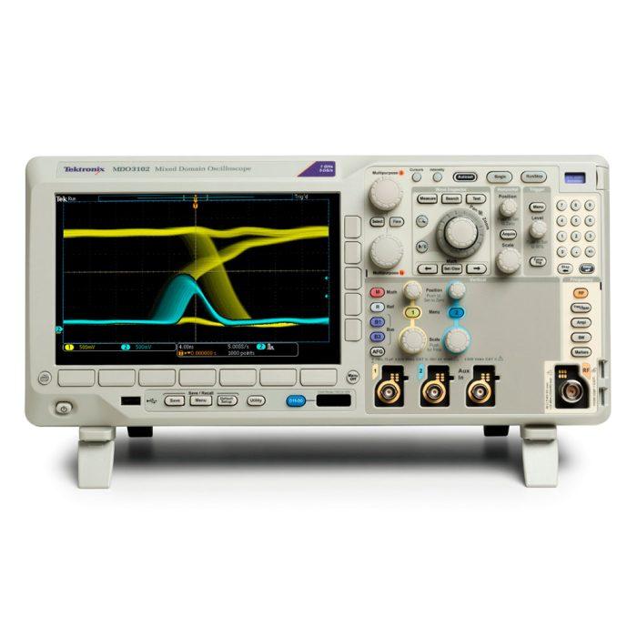 Комбинированный осциллограф MDO3102