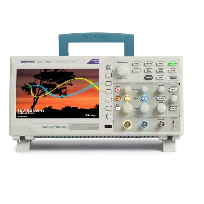 Внешний вид осциллографов Tektronix TBS1032B