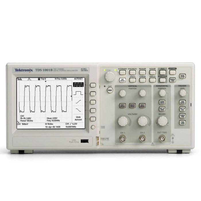 Цифровой осциллограф Tektronix TDS1001B
