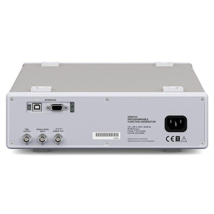 Генератор сигналов HM8150 - вид сзади