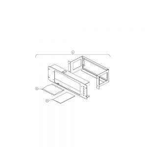Комплект для монтажа в стойку Tektronix RM3100