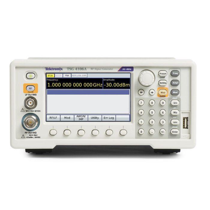 Векторные генераторы сигналов Tektronix TSG4104A