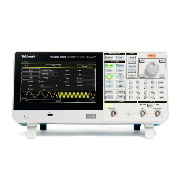 1 канальные модели генератора Tektronix AFG31000