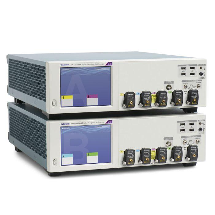 Комбинация двух Tektronix DPO73304SX