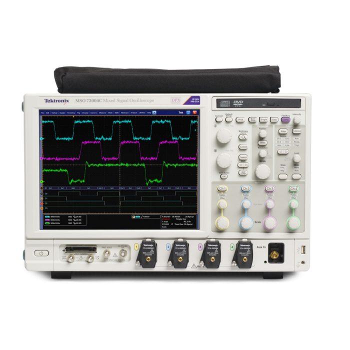 Tektronix MSO72004C - цифровой осциллограф 20 ГГц