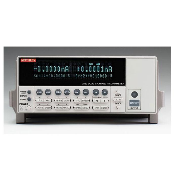 Двухканальный пикоамперметр Keithley 2502