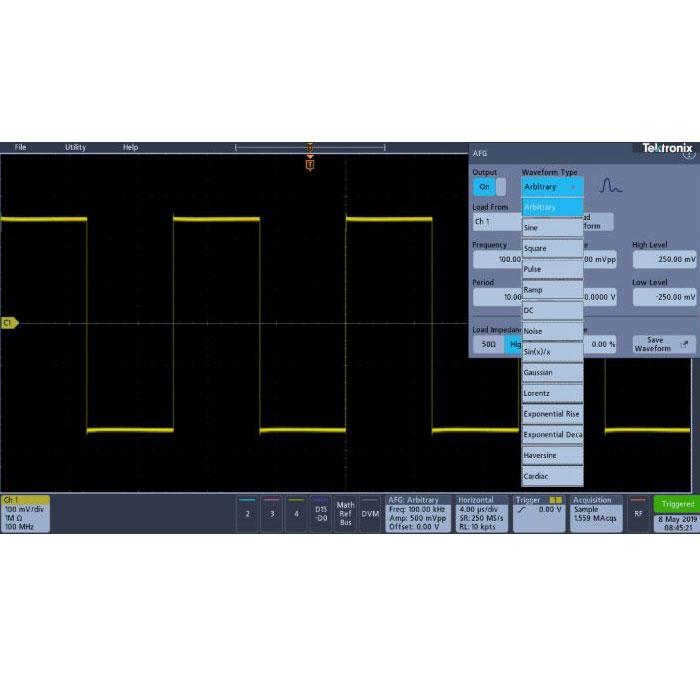 Tektronix 3-AFG опция генератора сигналов для осциллографов MDO3