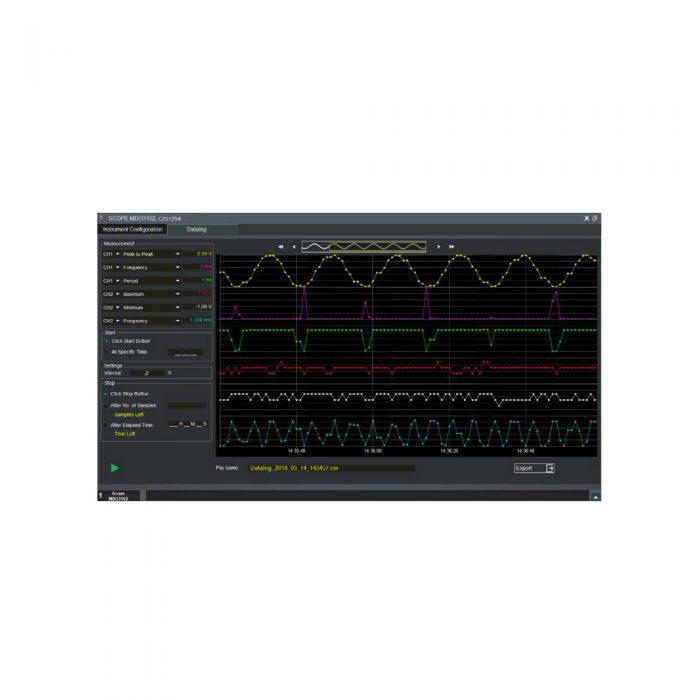 TekBench - ПО для управления осциллографами Tektronix