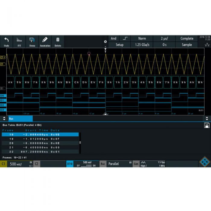 R&S RTB-B1 - опция цифровых каналов