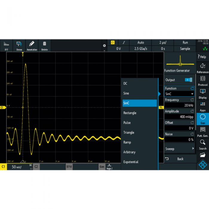 R&S RTB-B6 - опция генератора сигналов