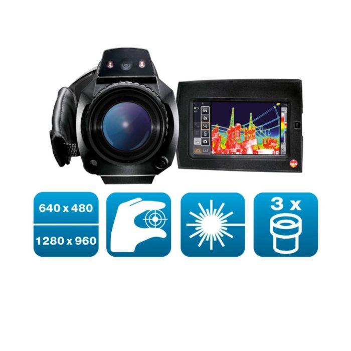 Комплект testo 890 - Комплект testo 890 с супер-телеобъективом и двумя дополнительными объективами