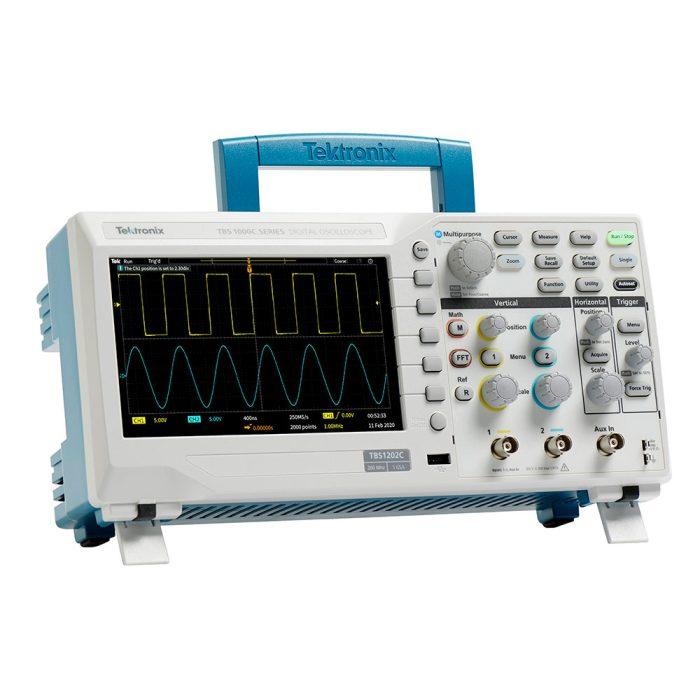 Tektronix TBS1052C - цифровой осциллограф 50 МГц, 2 канала